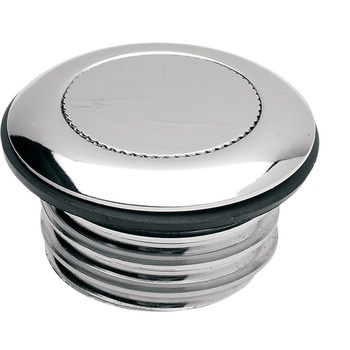 Drag Specialties Vented Pop-Up Gas Cap for 1984-1996 Harley - Chrome