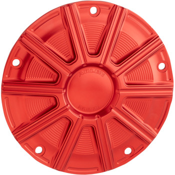 Arlen Ness 10-Gauge Derby Cover for 1999-2018 Harley Big Twin - Red
