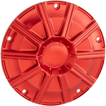 Arlen Ness 10-Gauge Derby Cover for 2016-2020 Harley Touring - Red