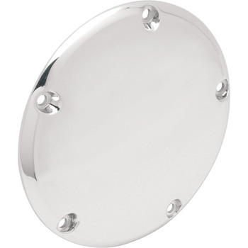 Drag Specialties Derby Cover for 1999-2018 Harley Big Twin - Chrome