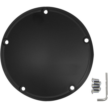 Drag Specialties Derby Cover for 1999-2018 Harley Big Twin - Satin Black