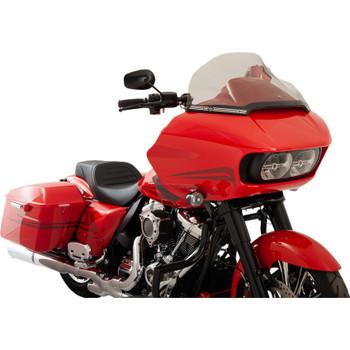 "Klock Werks 14"" Sport Flare Windshield for 2015-2020 Harley Road Glide - Tint"