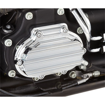 Arlen Ness 10-Gauge Transmission Side Cover for Harley Twin Cam - Chrome
