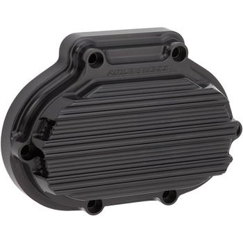 Arlen Ness 10-Gauge Transmission Side Cover for Harley Twin Cam - Black