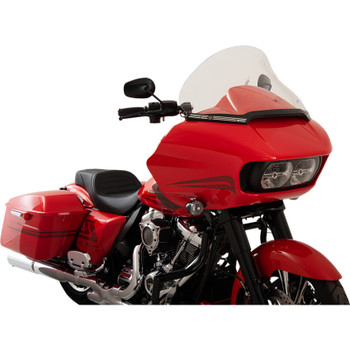 "Klock Werks 15"" Pro Touring Flare Windshield for 2015-2020 Harley Road Glide - Clear"