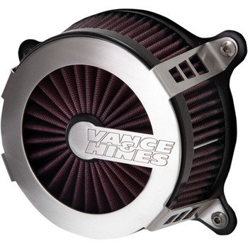 Vance & Hines VO2 Cage Fighter Air Intake Kit For 2008-2017 Harley Twin Cam Electronic Throttle