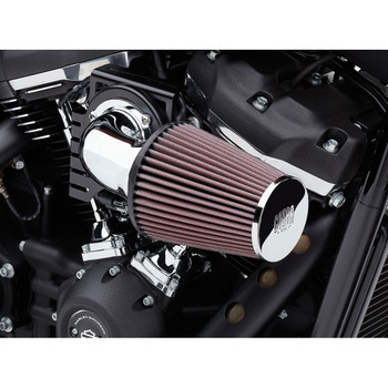 "Cobra Cone Air Intake for 2018-2020 Harley Softail w/ 107"" - Chrome"