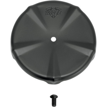 Vance & Hines Black Air Cleaner Cover For VO2 Naked & Round Air Cleaners - Skullcap