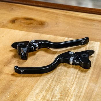 1FNGR Adjustable Hand Levers for 2017-2020 Harley Touring - Chrome