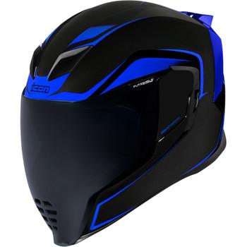 Icon Airflite Helmet - Blue Crosslink