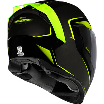 Icon Airflite Helmet - Hi-Viz Crosslink