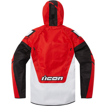 Icon Airform Retro Jacket - Red