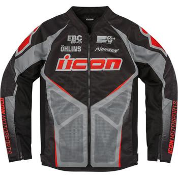 Icon Hooligan Ultrabolt Jacket - Black