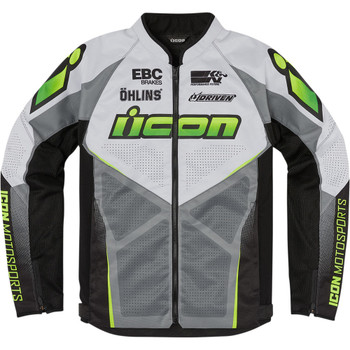 Icon Hooligan Ultrabolt Jacket - Hi-Viz