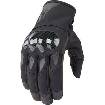 Icon Stormhawk Waterproof Gloves - Black