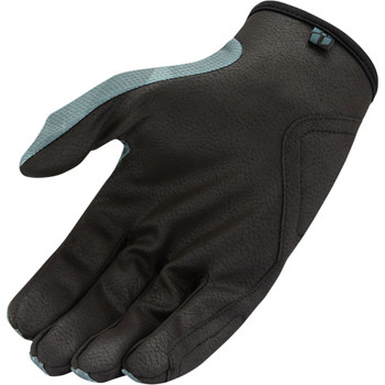 Icon Hooligan Gloves - Battlescar Gray
