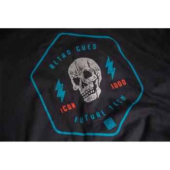 Icon RetroSkull T-Shirt - Black