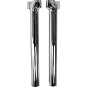 "Drag Specialties 12"" Straight Buffalo Handlebar Risers - Chrome"