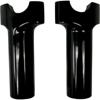 "Drag Specialties 4"" Straight Buffalo Handlebar Risers - Gloss Black"