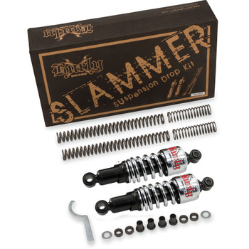 Burly Chrome Slammer Lowering Kit for 1991-2005 Harley Dyna
