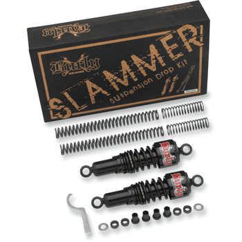 Burly Black Slammer Lowering Kit for 2004-2015 Harley Sportster XL