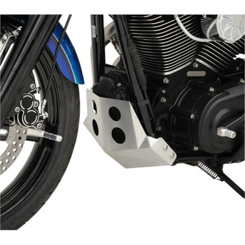 Speed Merchant Skid Plate for 2006-2017 Harley Dyna - Brushed