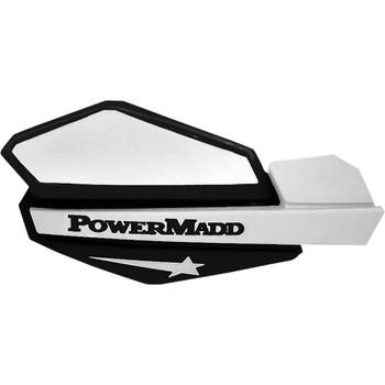 Powermadd Star Series Hand Guards - White/Black