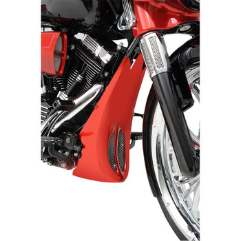 Trask Chin Spoiler for 2014-2016 Harley Touring with Stock Rake