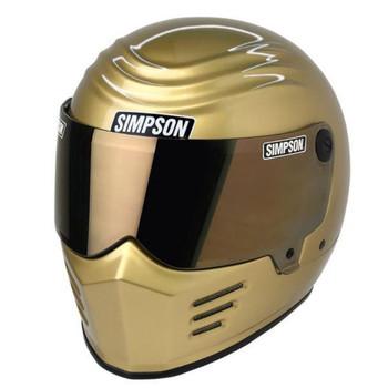 Simpson Outlaw Bandit Helmet - 24K Gold