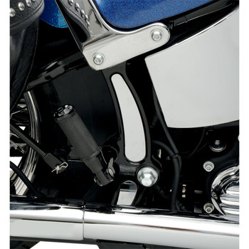 Drag Specialties Chrome Frame Inserts for 1984-2007 Harley Softail