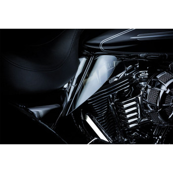 Kuryakyn Saddle Shield Frame Mounted Heat Deflector for 2009-2016 Harley Touring