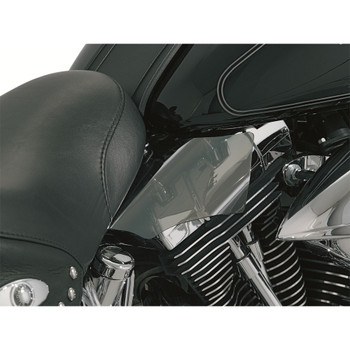 Kuryakyn Saddle Shield Frame Mounted Heat Deflector for 2000-2017 Harley Softail