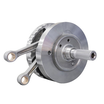 """S&S 4-5/8"""" Stroke Flywheel with Full Width Rods and balancer gear for Harley M8"""