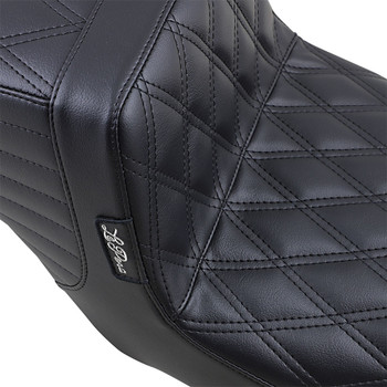LePera Tailwhip Seat for 2008-2020 Harley Touring - Double Diamond