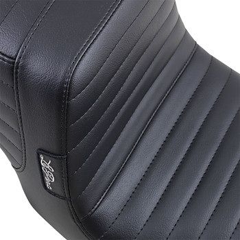 LePera Tailwhip Seat for 1996-2003 Harley Dyna - Pleated