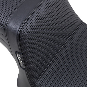 LePera Tailwhip Seat for 1982-2000 Harley FXR - Basket Weave