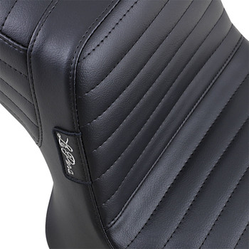 LePera Tailwhip Seat for 1982-2000 Harley FXR - Pleated