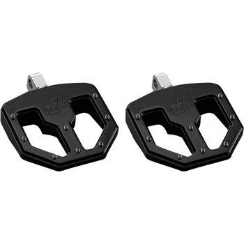 Pro One BMX V1 Foot Pegs for Harley - Black