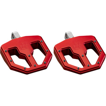Pro One BMX V1 Foot Pegs for Harley - Red