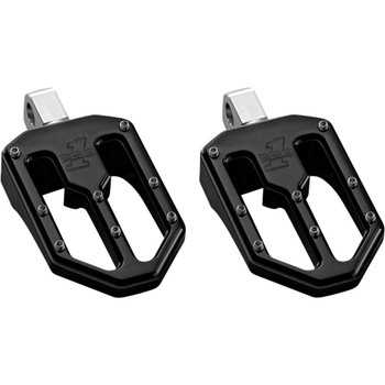 Pro One Moto V1 Foot Pegs for Harley - Black