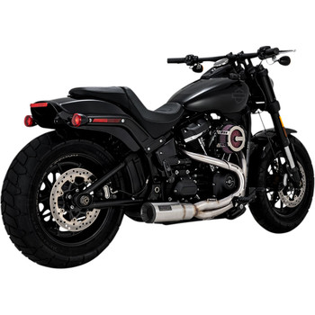 Vance & Hines Hi-Output 2-1 Short Exhaust for 2018-2020 Harley Softail - Stainless Steel
