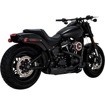 Vance & Hines Hi-Output 2-1 Short Exhaust for 2018-2020 Harley Softail - Black