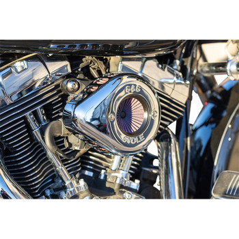 S&S Stealth Air Stinger Air Cleaner Teardrop Kit for 2008-2016 Harley Touring/Softail* - Chrome