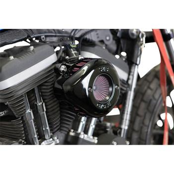 S&S Stealth Air Stinger Air Cleaner Teardrop Kit for 2007-2020 Harley Sportster - Gloss Black