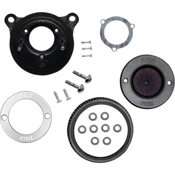 S&S Stealth Air Stinger Air Cleaner Kit for 2008-2016 Harley Touring/Softail*- S&S Ring Cover