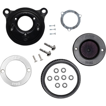 S&S Stealth Air Stinger Air Cleaner Kit for 2001-2017 Harley Twin Cam - S&S Ring Cover