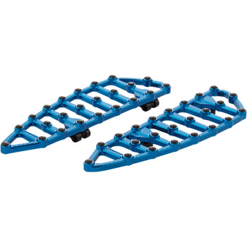 Arlen Ness MX Driver Floorboards for 2018-2020 Harley Softail - Blue