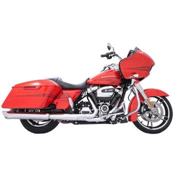 "TAB Performance 4"" B.A.M. Stick Slip-On Mufflers for 2017-2021 Harley Touring - Chrome"