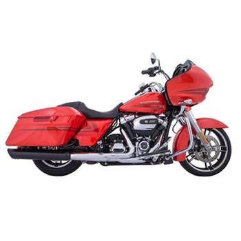 "TAB Performance 4"" B.A.M. Stick Slip-On Mufflers for 2017-2021 Harley Touring - Black"