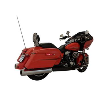 "TAB Performance 4.5"" B.A.M. Stick Slip-On Mufflers for 2017-2021 Harley Touring - Chrome"